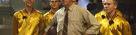 "Coach Norman Dale and his team from ""Hoosiers"""